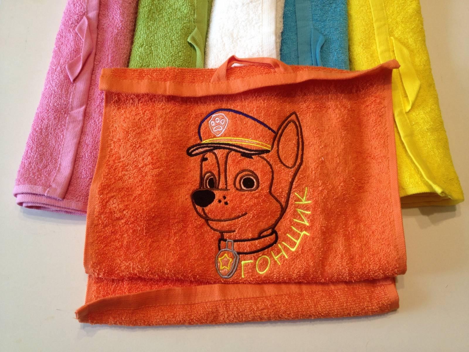 Вышивка на полотенце - podarki 51